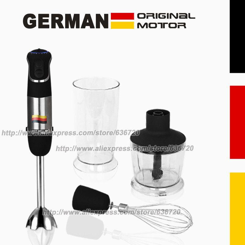 850 Вт немецкий Двигатель Технология Электрический блендер mq735, измельчения, кнут, Beat, перемешать, smart stick комбайны