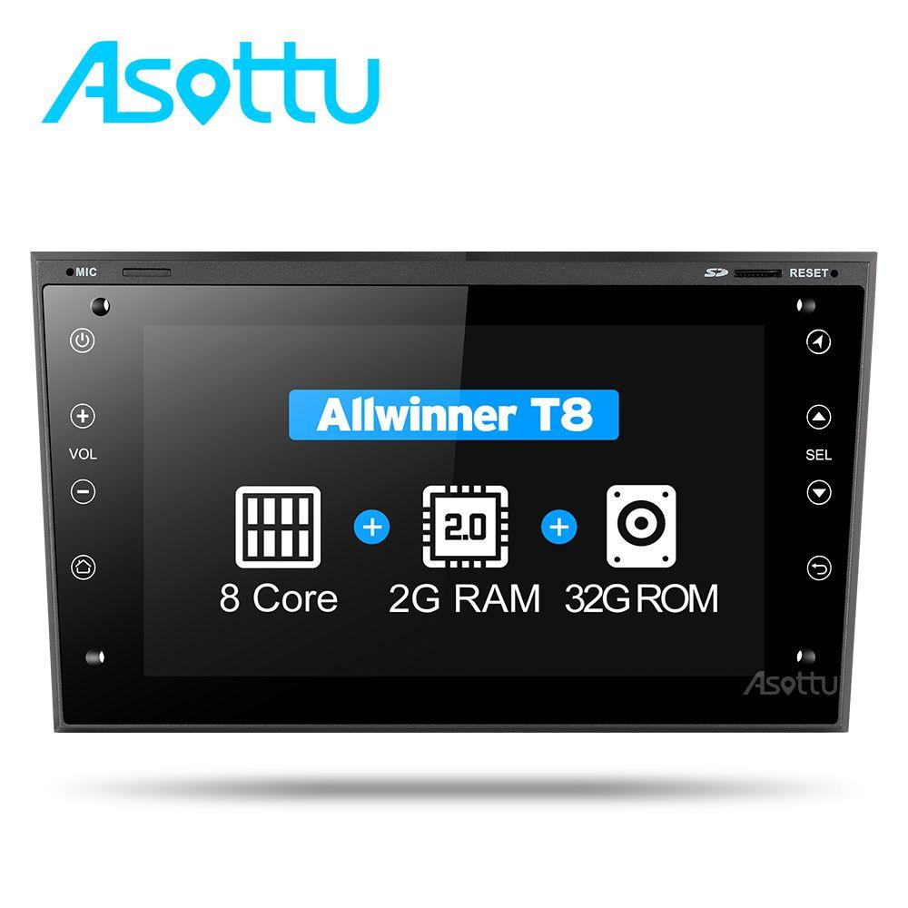2G + 32G 8 core Asottu COB7060 Android 7.1.2 für OPEL Astra H Meriva Antara Zafira Veda Agila Corsa Vectra auto dvd gps navigation