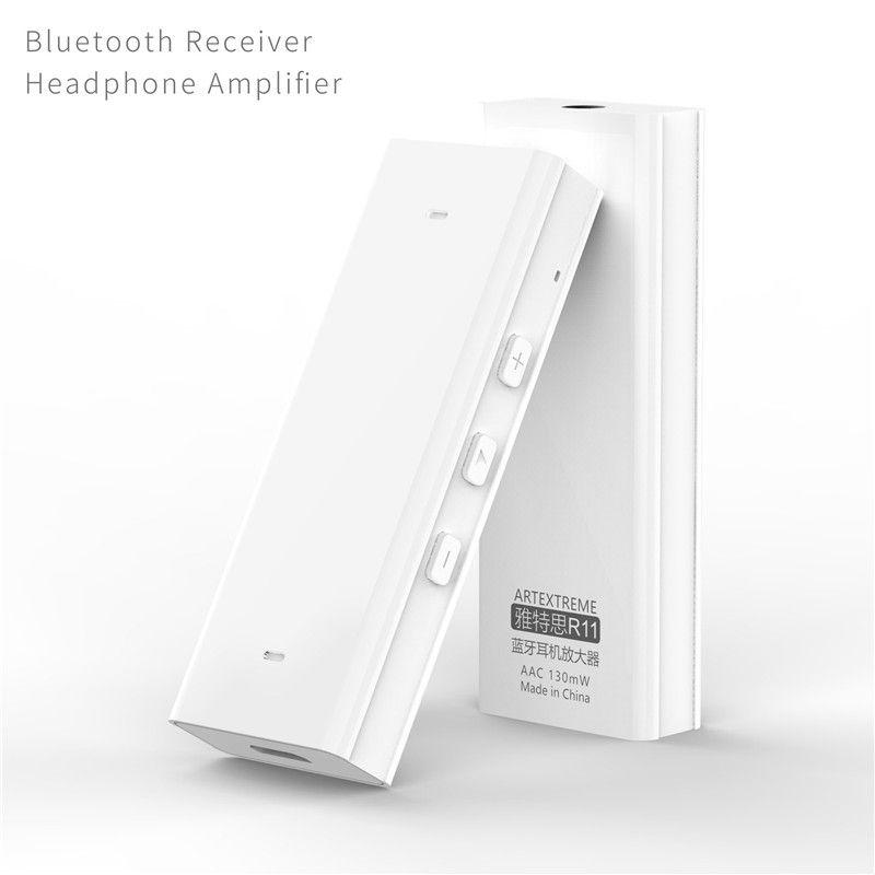 Artextreme R11 Drahtlose Bluetooth Kopfhörer Verstärker HiFi Audio Receiver CH2.0 CSR4.1 Unterschied Amp AUX Handfree Musik-player