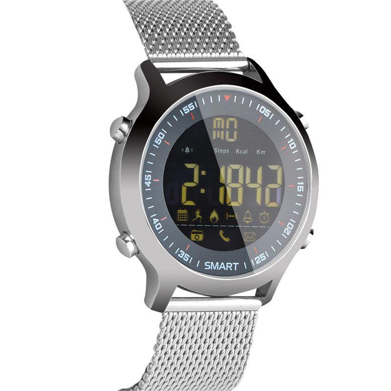 EX18 Montre Intelligente Professionnelle Plongée Sport Smartwatch Bluetooth Téléphone Message Push Montre-Bracelet 5ATM IP67 Étanche Montres Connectées
