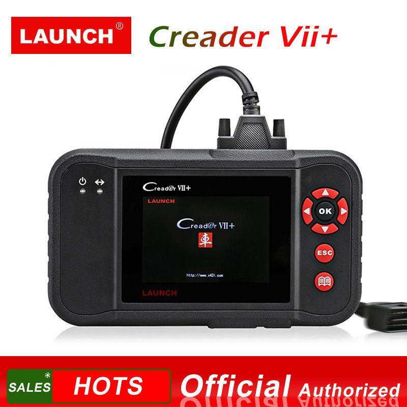 STARTEN X431 Creader VII + OBD2 Auto Code Reader Scanner Auto Diagnose Werkzeug für Motor Übertragung ABS Airbag Creader VII plus