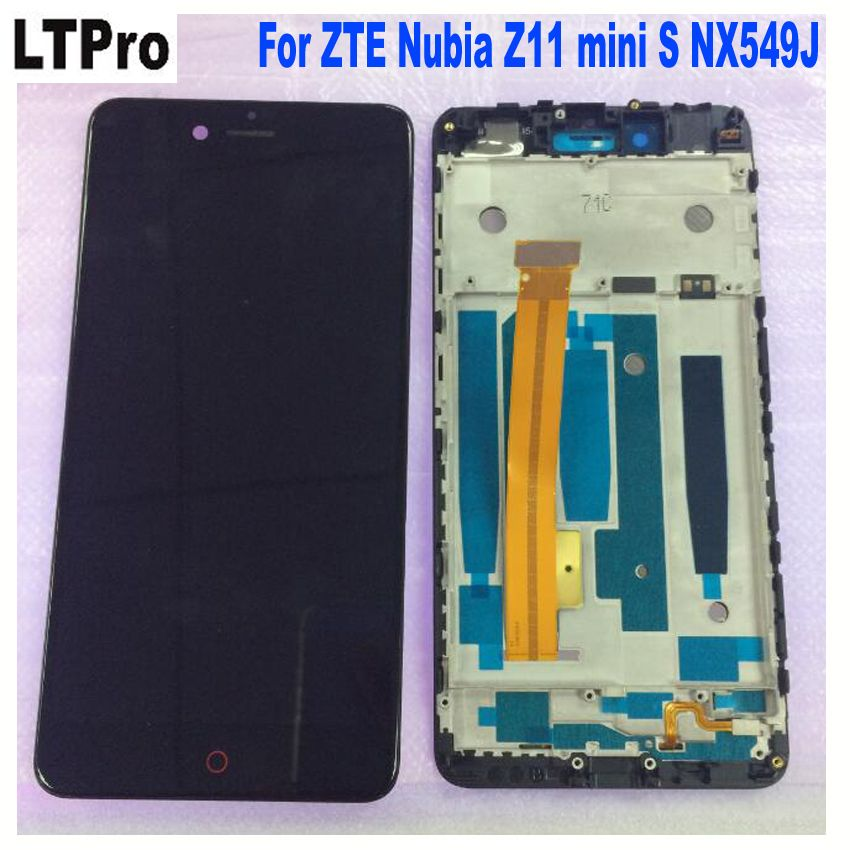 LTPro For 5.2'' ZTE Nubia Z11 mini S NX549J Full LCD screen display+touch digitizer with frame white/black