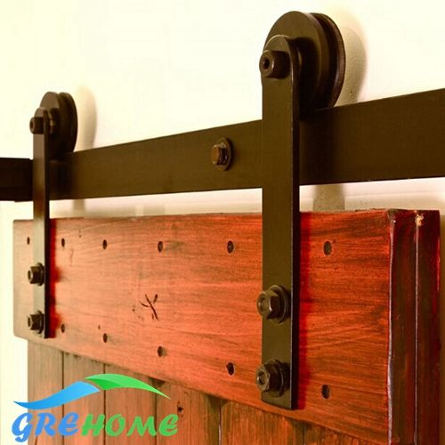 4.9FT/6FT/6.6FT Carbon steel sliding barn door hardware