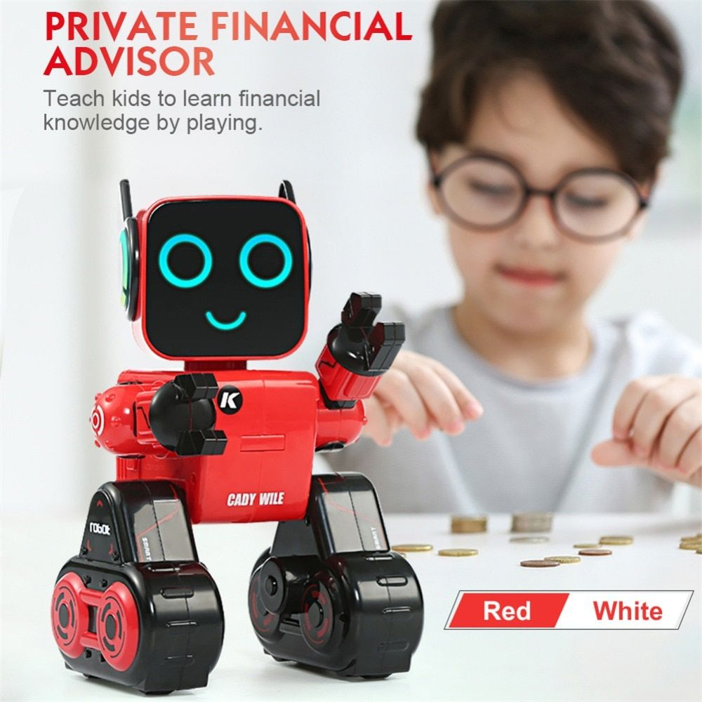 JJRC R4 Cady Wile 2.4GHZ Intelligent Remote Control Roro-advisor Intelligent Robot (Built-in Battery)