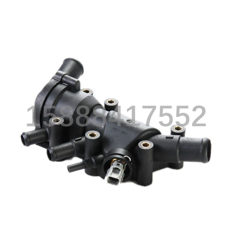 1pcs Auto cooling system thermostat housing for FORD KA  XS6E 8A 586AH XS6E 8A 586AL