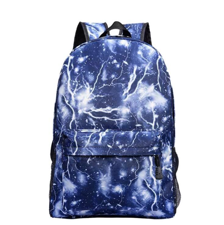 Dropshipping School Bag noctilucous Luminous backpack student bag Notebook backpack Daily backpack Glow in the Dark