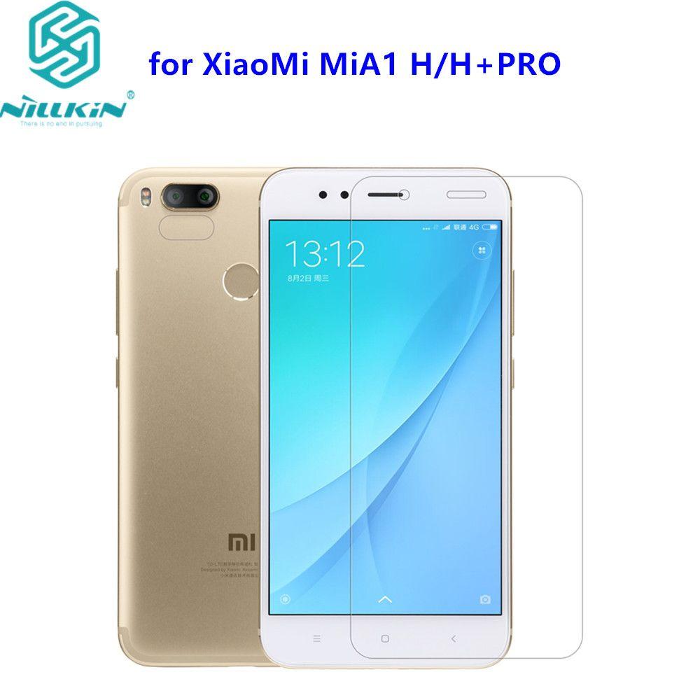 Pour XiaoMi MiA1 Trempé Verre Nillkin Anti-Explosion H/H + Pro Trempé Protecteur D'écran En Verre Film Mondial Version Xiaomi Mi A1