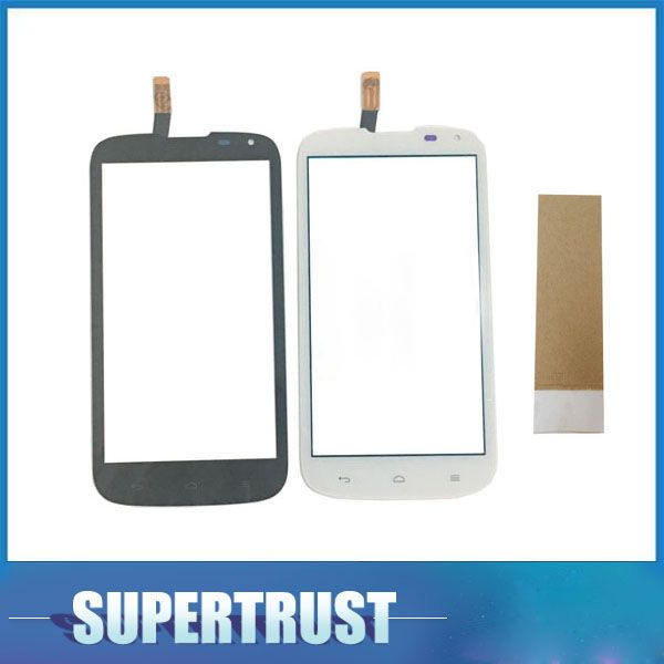 5.0For Huawei G610 C8815 G 610 Touch Screen Digitizer Front Glass Lens Black White color With tape