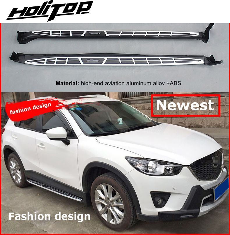New arrival for Mazda CX-5 2012-2017 fashion running board side step bar,popular style, match well,Hitop-5years SUV experiences