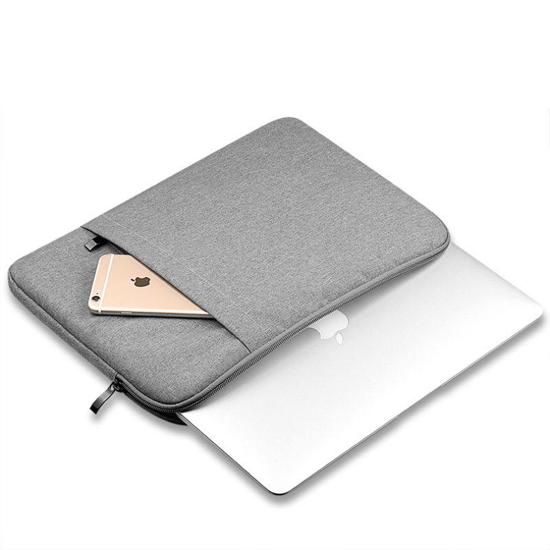 Nylon Laptop Sleeve pour ordinateur Portable Sac Housse pour Macbook Air 11 13 12 15 Pro 13.3 15.4 Retina Unisexe Doublure Manches pour Xiaomi Air