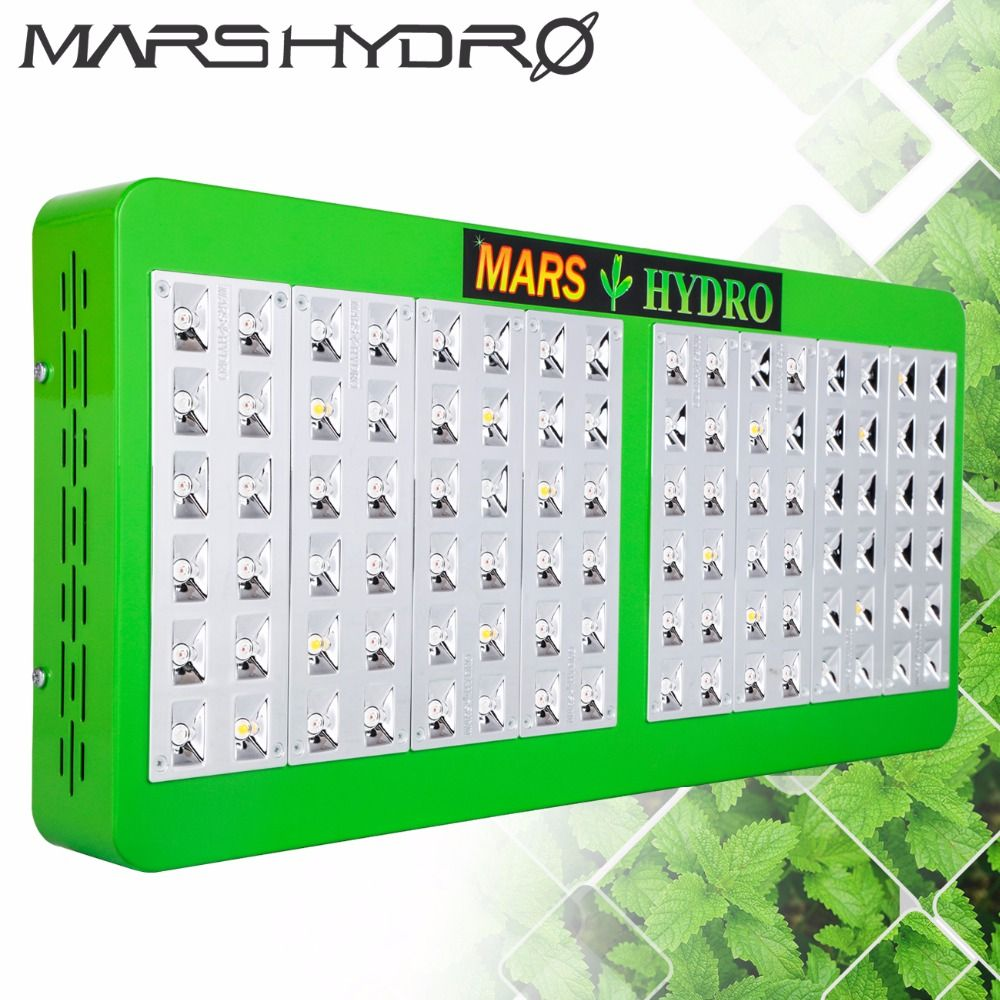 Mars Hydro Reflector 480W Led Grow Light Full Spectrum Grow leds for Grow Box