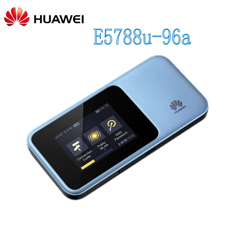 New Original Huawei Mobile Wifi 1G DL Speed Support NFC Bluetooth Data Transmit and Wake Up Huawei E5788 PK M1 MF980
