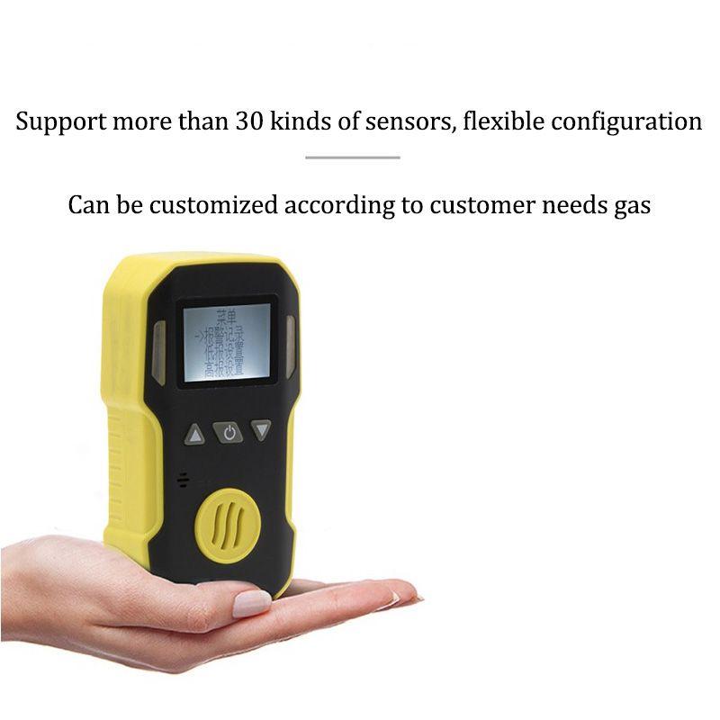Gas Leak Detector O3 ozone Gas Monitor with Sound+Light+Shock Alarm Gas Detector Professional O3 Air Gas Analyzer Sensor