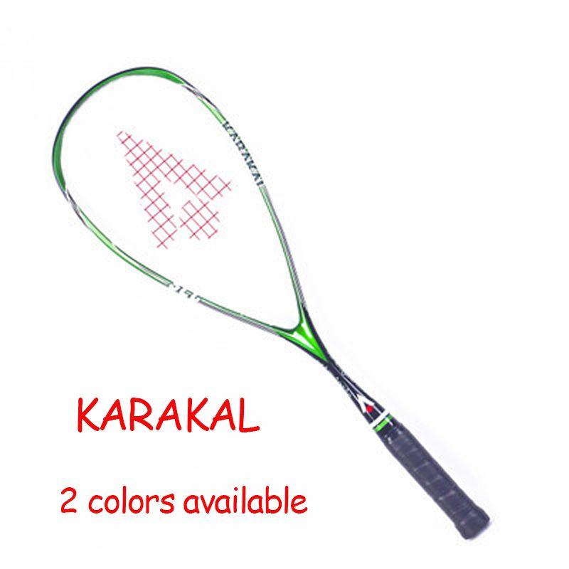 Offizielle Brand Karakal Squash Schläger SLC 100% Kohlefaser-material Für Squash Sport Training Anfänger