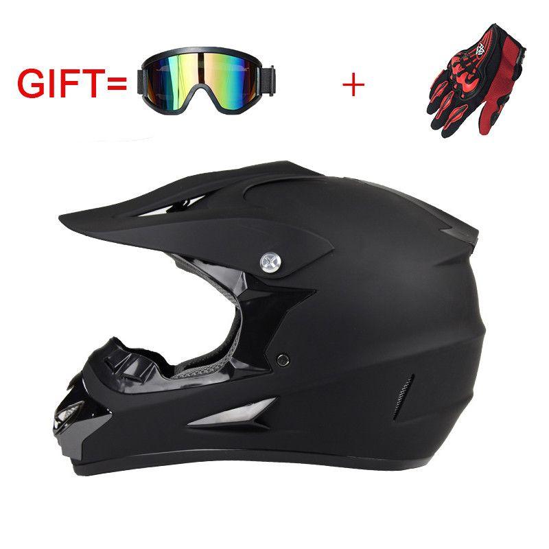 Motocross motos casque vélo de descente casques casque Moto équipement de protection de type Cross-Country ABS matériel