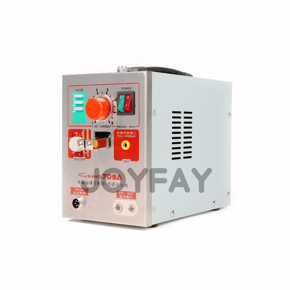 Spot Welder SUNKKO 709A Battery Spot Welder for 18650 Lithium-ion Battery Pulse Welder Welding Soldering Machine 1.9 kw 220V