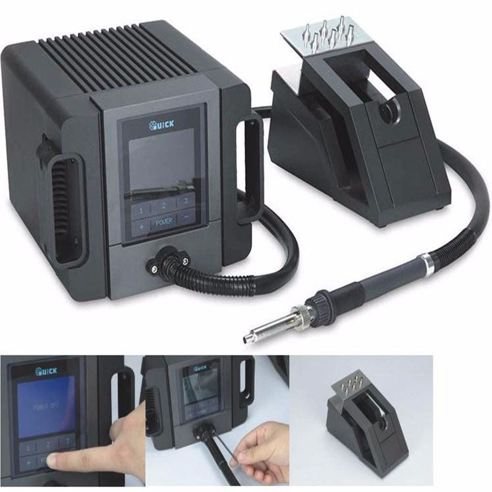 Quick TR1100 180w 110V/220V rework station portable electric welding machine LCD Display