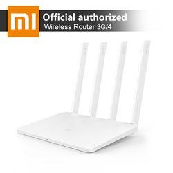 Xiao Mi WiFi Беспроводной маршрутизатор роутер 3 г 1167 Мбит/с Wi-Fi ретранслятор 4 1167 Мбит/с 2.4 г/5 ГГц двойной 128 МБ NAND Flash Встроенная память 256 МБ памяти ...