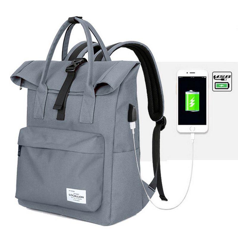 Новый многофункциональный USB зарядки Для мужчин ноутбука Рюкзаки Открытый Спорт мужской Mochila отдыха и путешествий рюкзак большой емкости р...