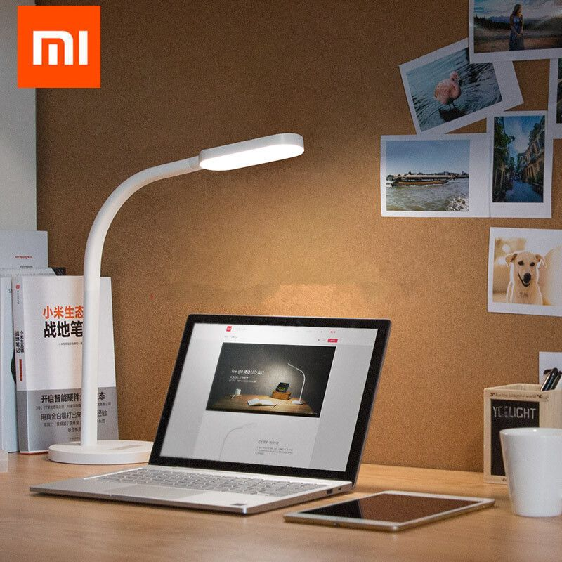 Xiaomi Yeelight Led Desk Lamp Dimmable Folding Lights Touch Adjust Flexible Lamps 3W Energy Saving For xiaomi smart home kits
