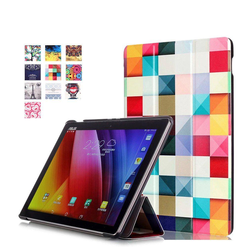 Уникальный дизайн Цвет окрашенные Магнитный Smart Cover для Asus ZenPad 10 случае z300 Z300C Z300CG Планшеты чехол для ZenPad z301ml z301mfl