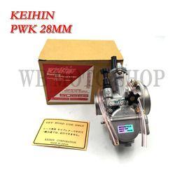 Keihin PWK28 PWK 28 30 32 34mm carburador motocicleta ATV buggy Quad ir Kart dirt bike Jet barco ajuste 2 T 4 t Jog dio
