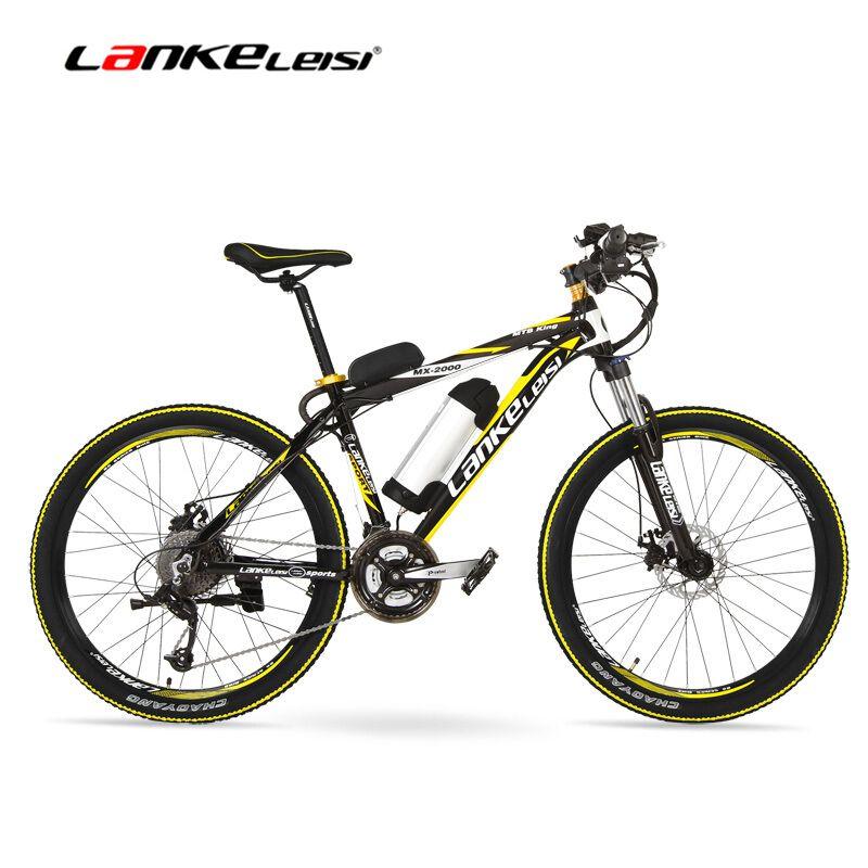 MX2000D 500 Watt Große Macht Lithiumbatterie E Fahrrad, 26 Zoll Elektrische Fahrrad 48 V 10Ah Mountainbike, 27 Geschwindigkeiten Ebik, Scheibenbremse. E Bike