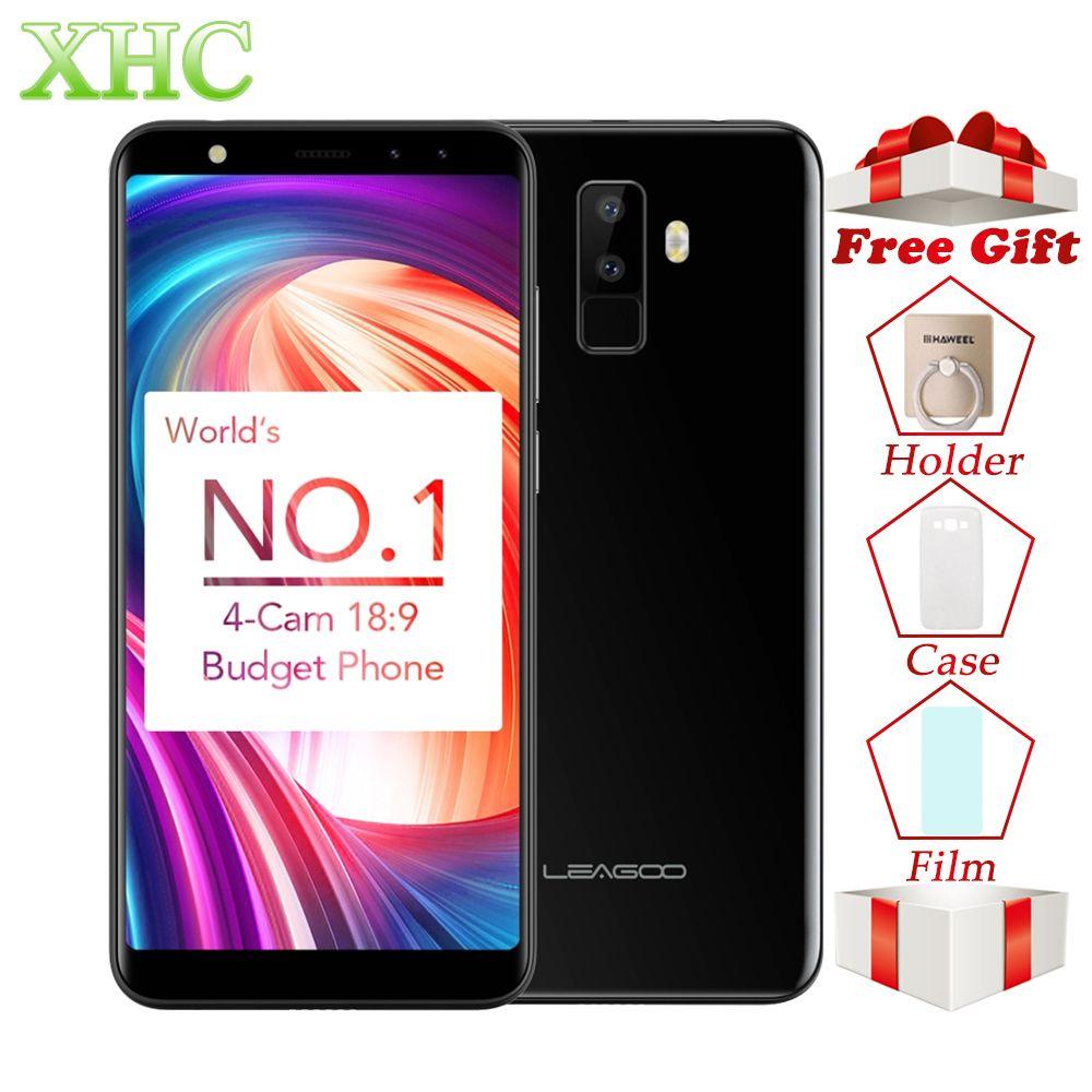 LEAGOO M9 WCDMA 3G Smartphones 5.5 <font><b>18:9</b></font> Full Screen Android 7.0 MT6580A Quad Core RAM 2GB+ROM 16GB FOTA Dual SIM Mobile Phones