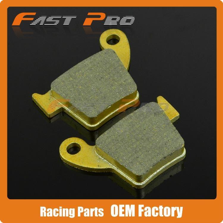 Rear Brake Pads For CR125R CRF150R CRF150RB CR250R CRF250R CRF250X CRF450R CRF450X Motocross Enduro Supermoto Dirt Bike