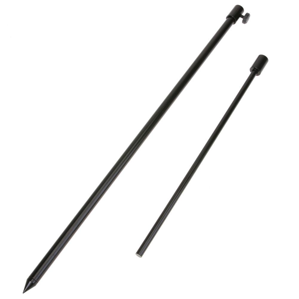 48-75 cm Aluminium Alloy Angeln Bankstick Einstellbar Fisch Rod Pod Rest Karpfenangeln Solid Black Stangen Banksticks halter