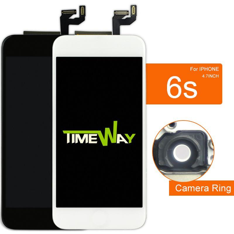 100% testé pour iphone 6 S LCD affichage pour Tianma & AAA qualité avec écran tactile numériseur assemblée pour iphone 6 S écran 4.7 pouces