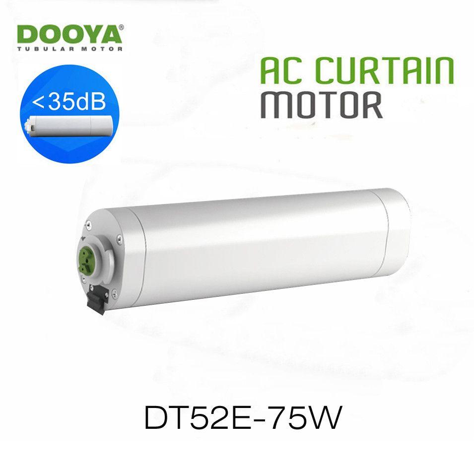 Dooya moteur de rideau électrique DT52E 75 W moteur ouvert/fermé RF433 télécommande domotique intelligente, projet moteur spécial, 220 V