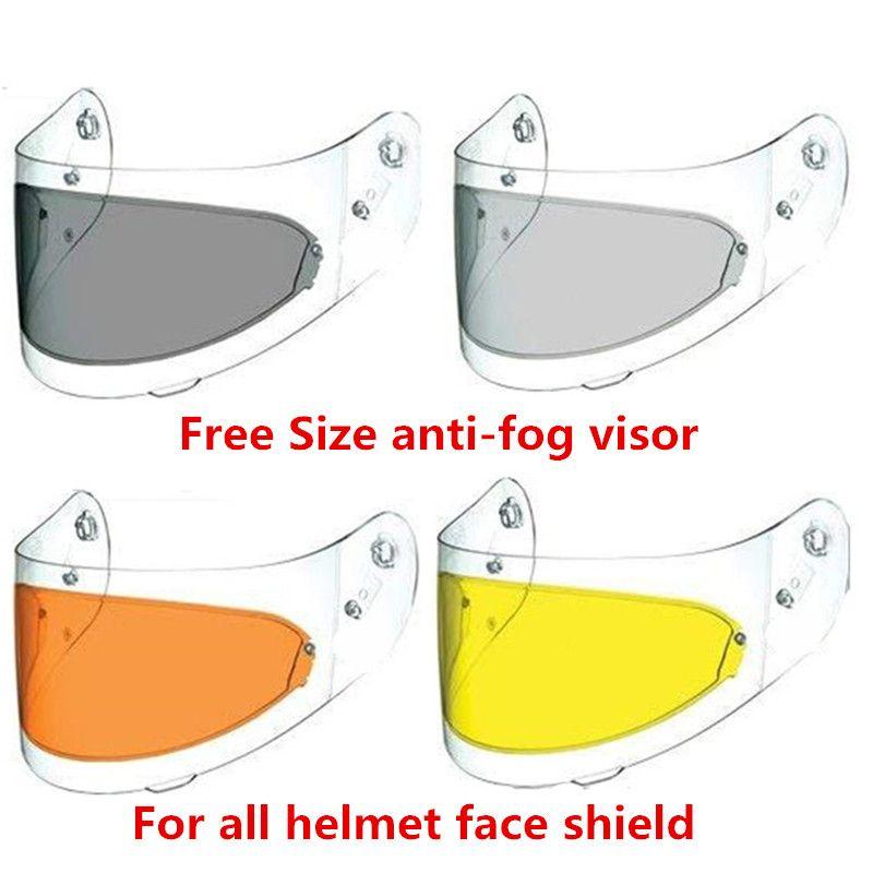 Universal LS2 anti-fog visor lens full face motorcycle helmet anti-fog pinlock for agv k3 sv k5 HJC TORC BEON modular helmets