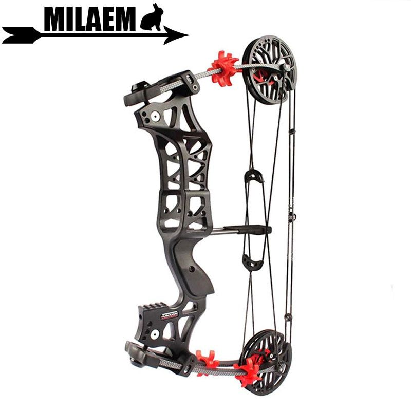 1Set 30-60lbs Archery Compound Bow M109E Steel Ball Bow IBO 345FPS Right Hand /Left Hand Hunting Accessory