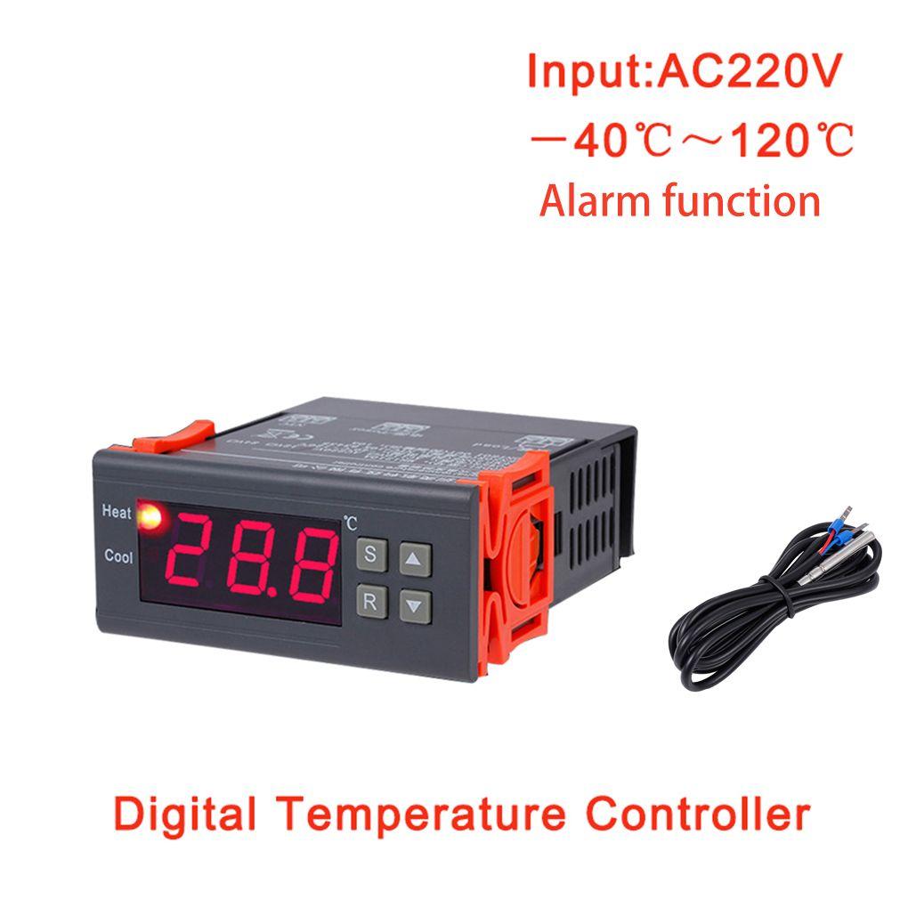 MH1210B AC220V Thermostat numérique Table de contrôle de température électronique réfrigération régulateur de chauffage régulateur thermique