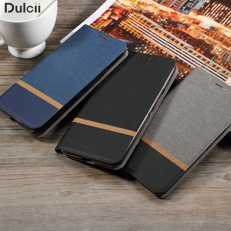 Dulcii for Galaxy A7 2017 A3 A5 S7 S8 Note 8 PU Leather Cover Cross business Card Holder Phone Case for Samsung Galaxy A7 (2017)
