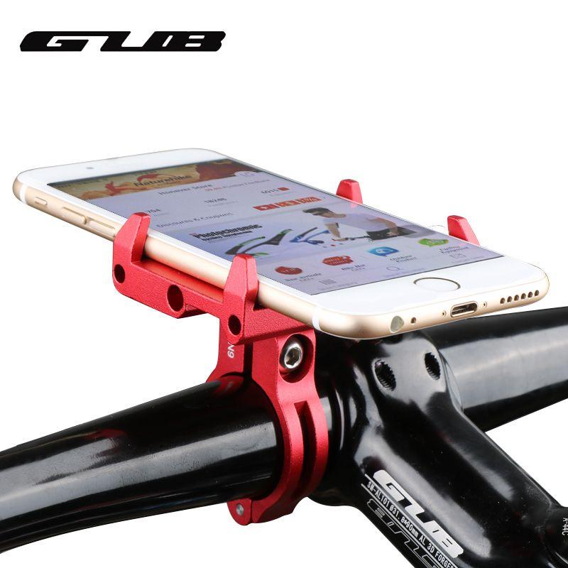 GUB G-85 Adjustable Universal Bike Phone Stand For 3.5-6.2inch Smartphone Aluminum Bicycle Handlebar Holder Mount Bracket