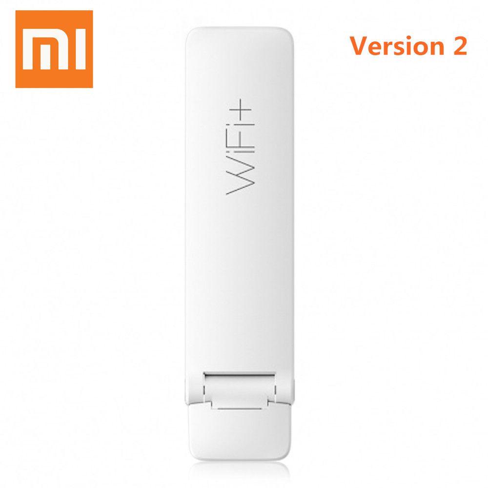 Original Xiaomi Mi WiFi 300Mbps Xiaomi Wirless Mi WiFi Amplifier 2 Expander For Mi Router Upgrade Automatically English Version