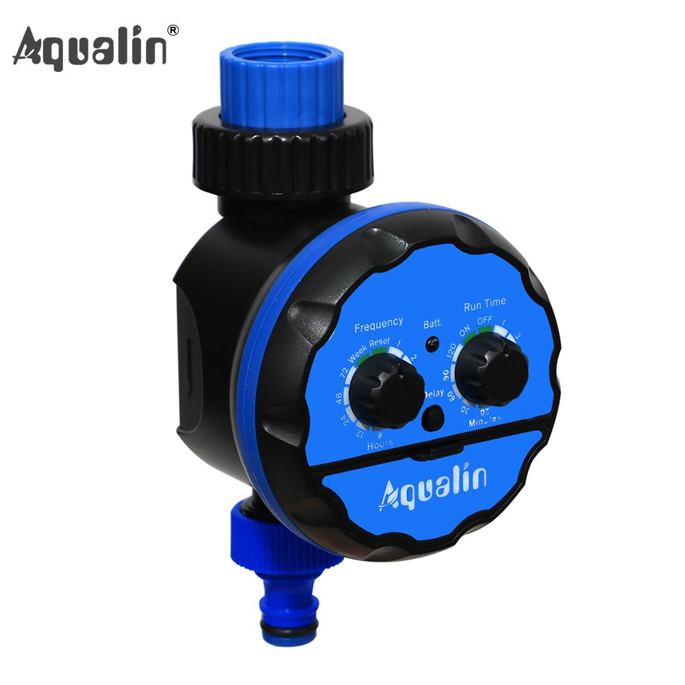 Watering Timer Irrigation Garden Water Timer Waterproof Controller for Garden,Yard with Rain <font><b>Delay</b></font> Function #21039