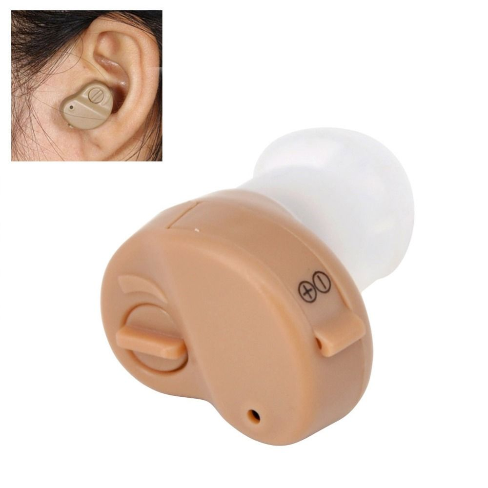 K-80 Hearing Aid Portable Mini In The Ear Invisible Sound Amplifier Adjustable Tone Digital Ear Care Aids