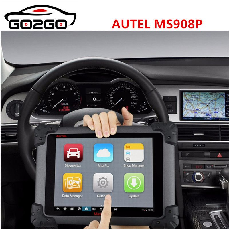 Autel MaxiSYS Pro MS908P Auto Diagnose/ECU Codeing/Programmierung System mit WiFi/Bluetooth Unterstützung J-2534 Online Programmierung