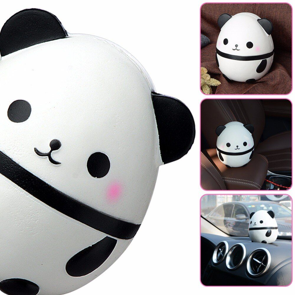 1Pcs NEW 14CM Kawaii PU Solid Color Sheep Squishy Slow Rising Jumbo Simulation Soft Scented Animal Strap Kid Fun Toy Gift D20
