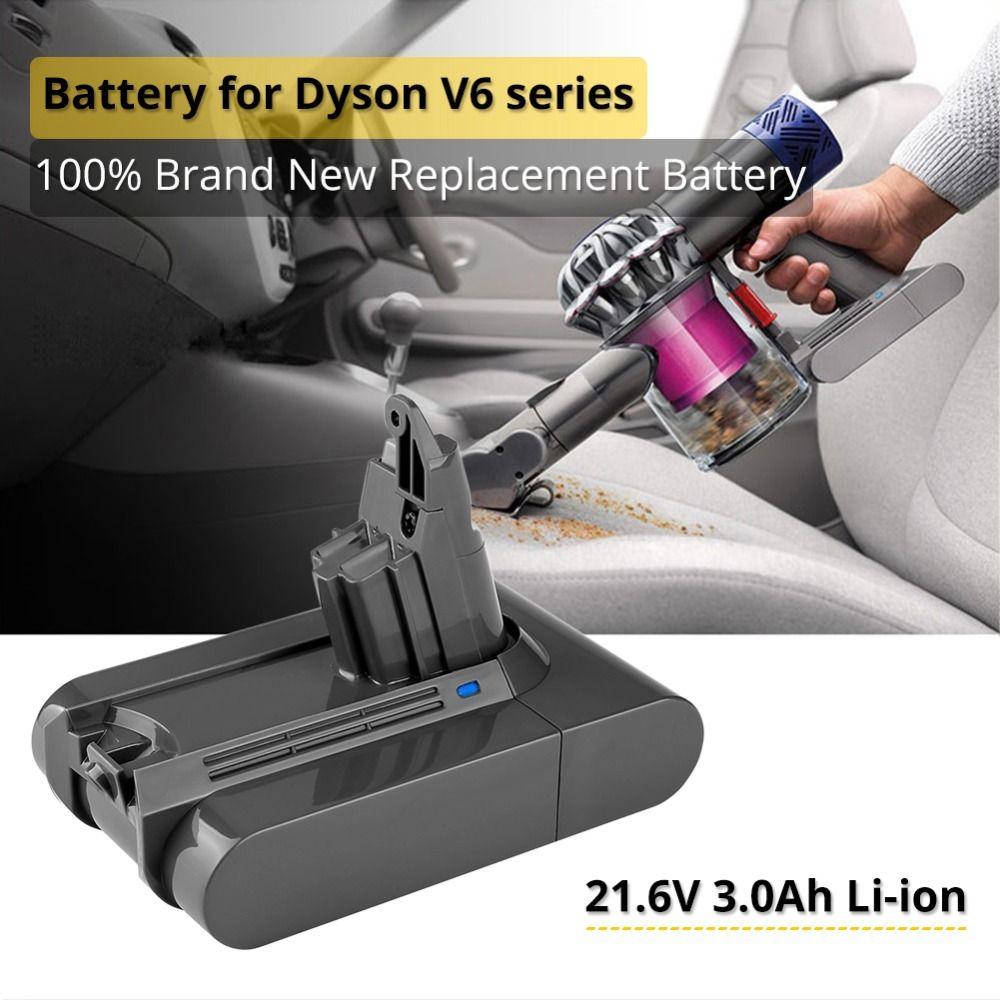 3.0Ah 21.6 V batterie au Lithium pour Dyson V6 DC62 DC58 DC59 SV09 SV07 SV03 pièces de rechange pour aspirateur Sony cell