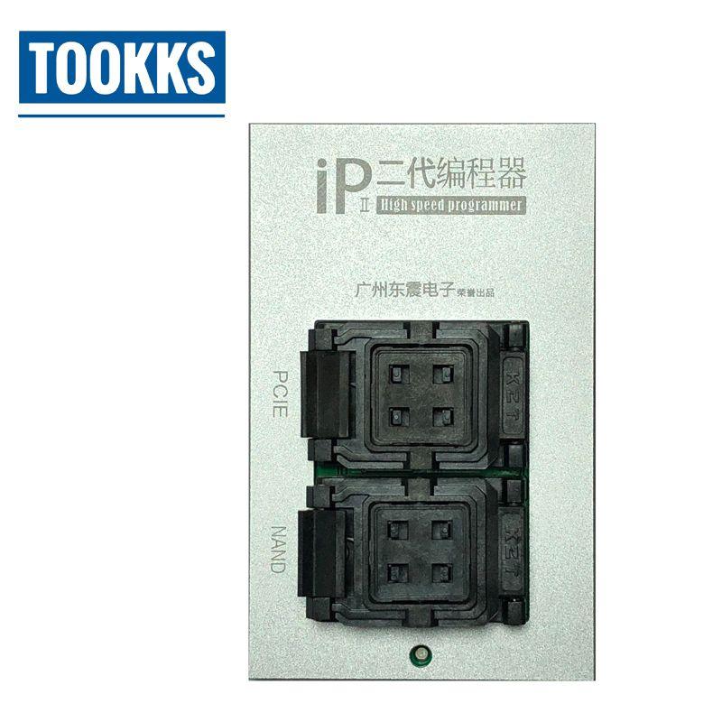 2018 neueste IP Box 2th Hohe Geschwindigkeit NAND PCIE Programmierer für iPhone 4 S 5 5C 5 S 6 6 P 6 S 6SP 7 7 P NAND Upgrade 64-Bit Festplatte Test