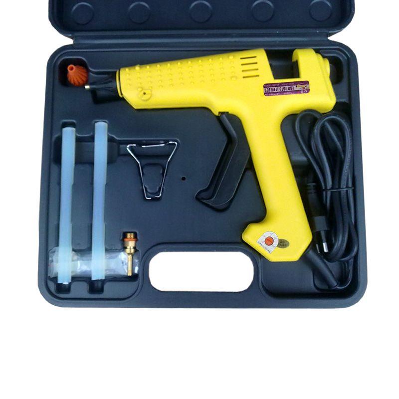 OUTIL SAC: Thermofusible Pistolet À Colle, 250 watts Réglable Thermostats, UE plug, livraison Gratuite, 1 boîte/lot