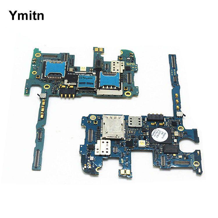 Ymitn 100% travail Carte Mère Débloqué Officielles Mainboad Avec Puces Carte Logique Pour Samsung Galaxy Note3 Note 3 N900 N9005 32 GB