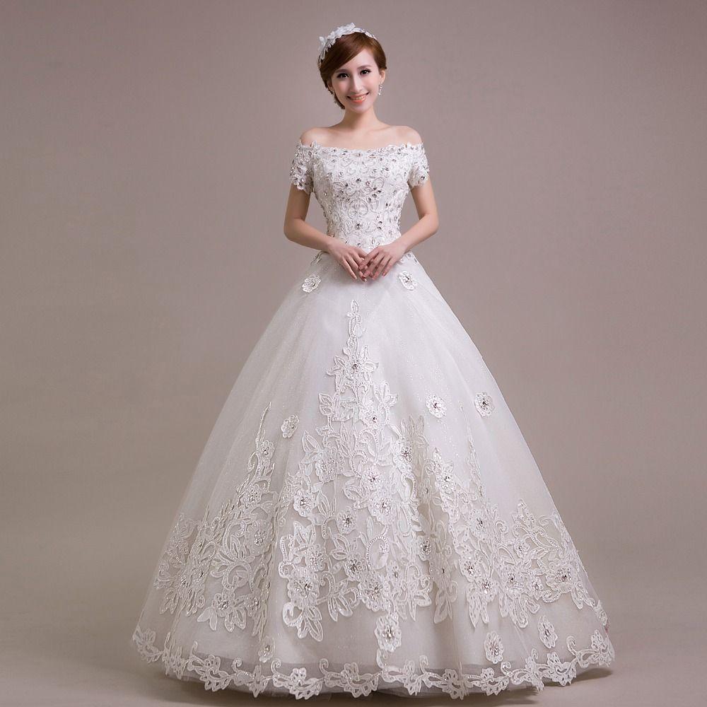 princess vintage wedding dress 2016 bride  simple sheap bridal gown real photo wedding-dress weding weeding vestido de noiva
