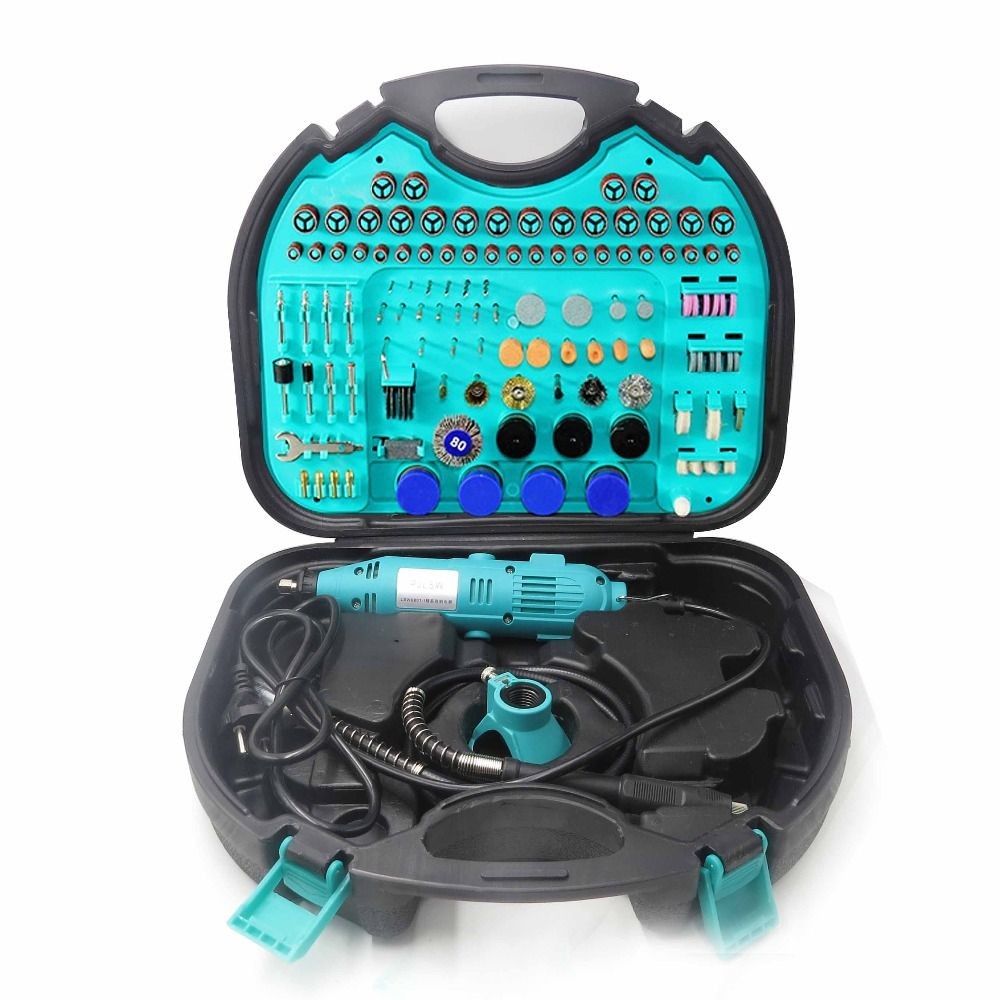 PJLSW252-I Kit combination tool electric grinder suit small jade carving machine polishing machine grinding machin Contains tool