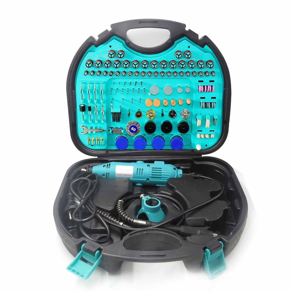PJLSW255-I Kit combination tool electric grinder suit small jade carving machine polishing machine grinding machin Contains tool