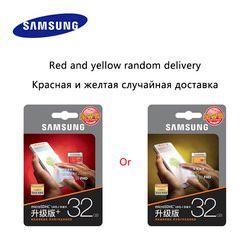 SAMSUNG EVO Plus Micro SD карта 64 ГБ 32 ГБ 16 ГБ 256 Гб класс 10 microSDXC UHS-I 80 МБ/с./с Карта памяти SDHC TF 64 ГБ 128 ГБ + SD адаптер 256 г